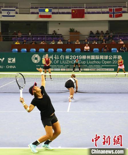蒋欣玗/汤千慧问鼎2019柳州国际网球公开赛女双冠军