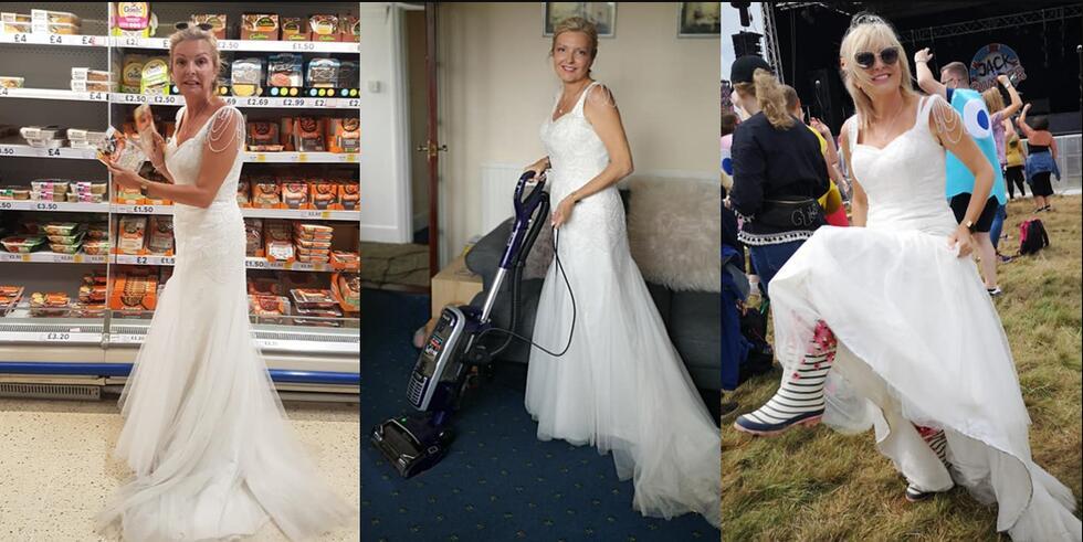 用垃圾袋做婚纱方法_用垃圾袋做衣服图片