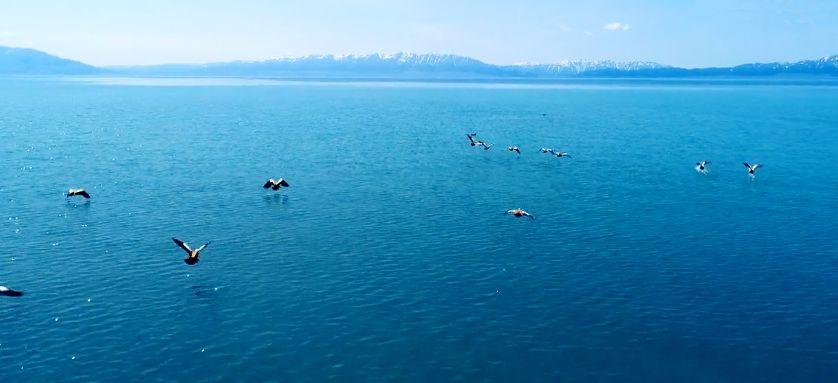 中国净海,镜像世界——赛里木湖_新疆
