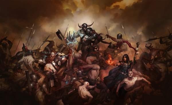 《暗黑破坏神4》风格受克苏鲁神话影响 恐怖气氛更浓郁_游戏