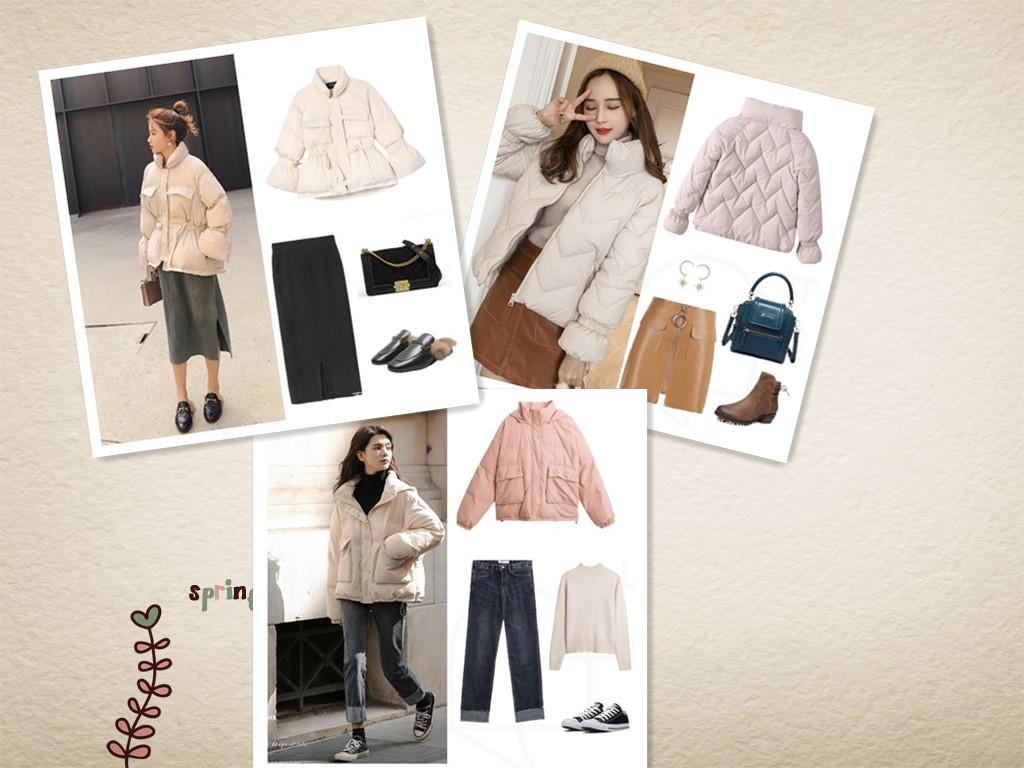 """小個子的女生,冬天穿羽絨服,學會這3個""""穿衣法則"""",太時髦了 (圖1)"""