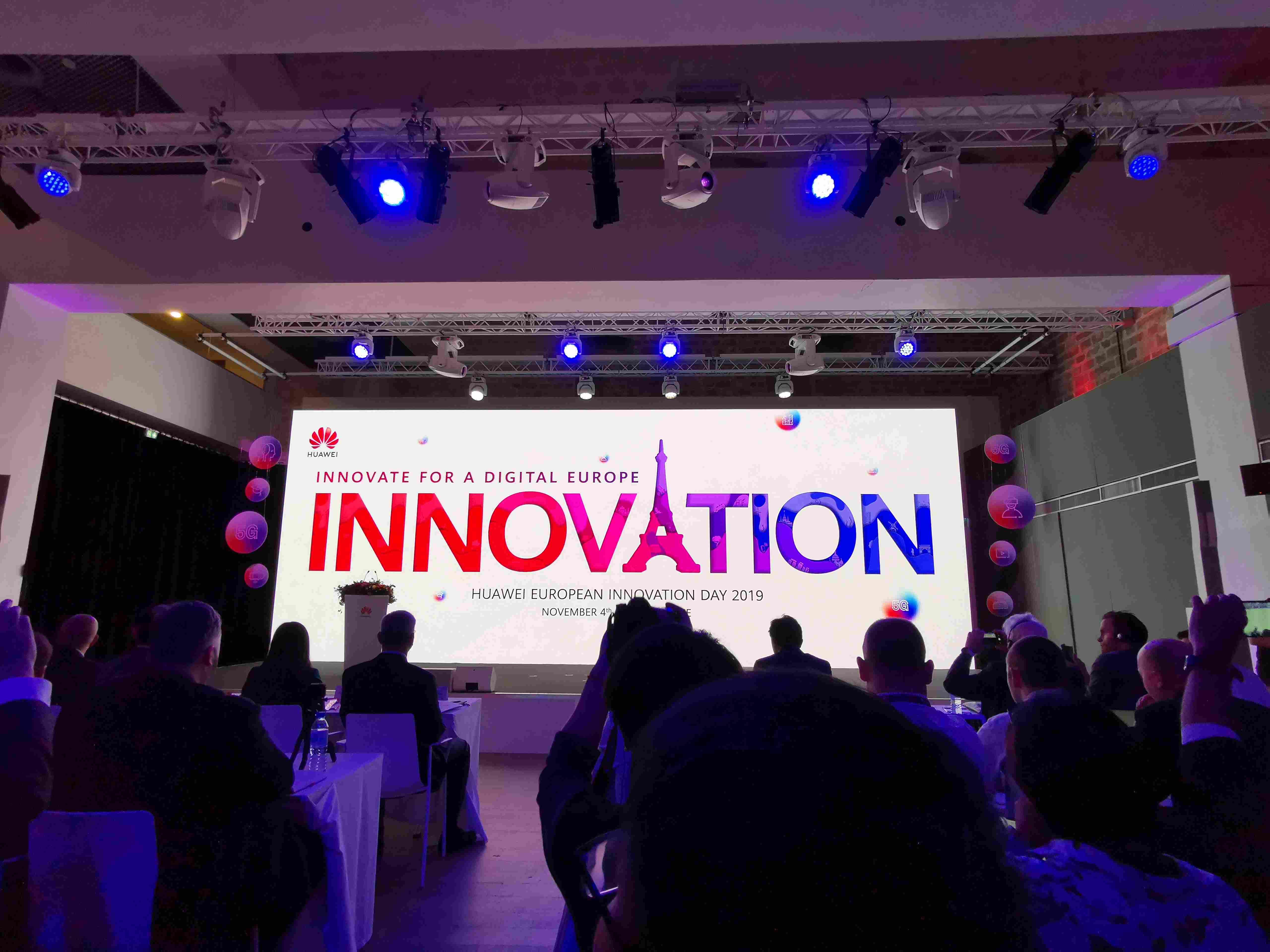 华为第七届欧洲创新日在巴黎举办