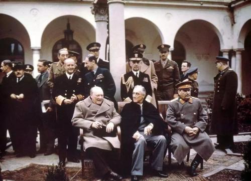 二战盟军四巨头,美中苏英四国,谁才是真正的中流砥柱?