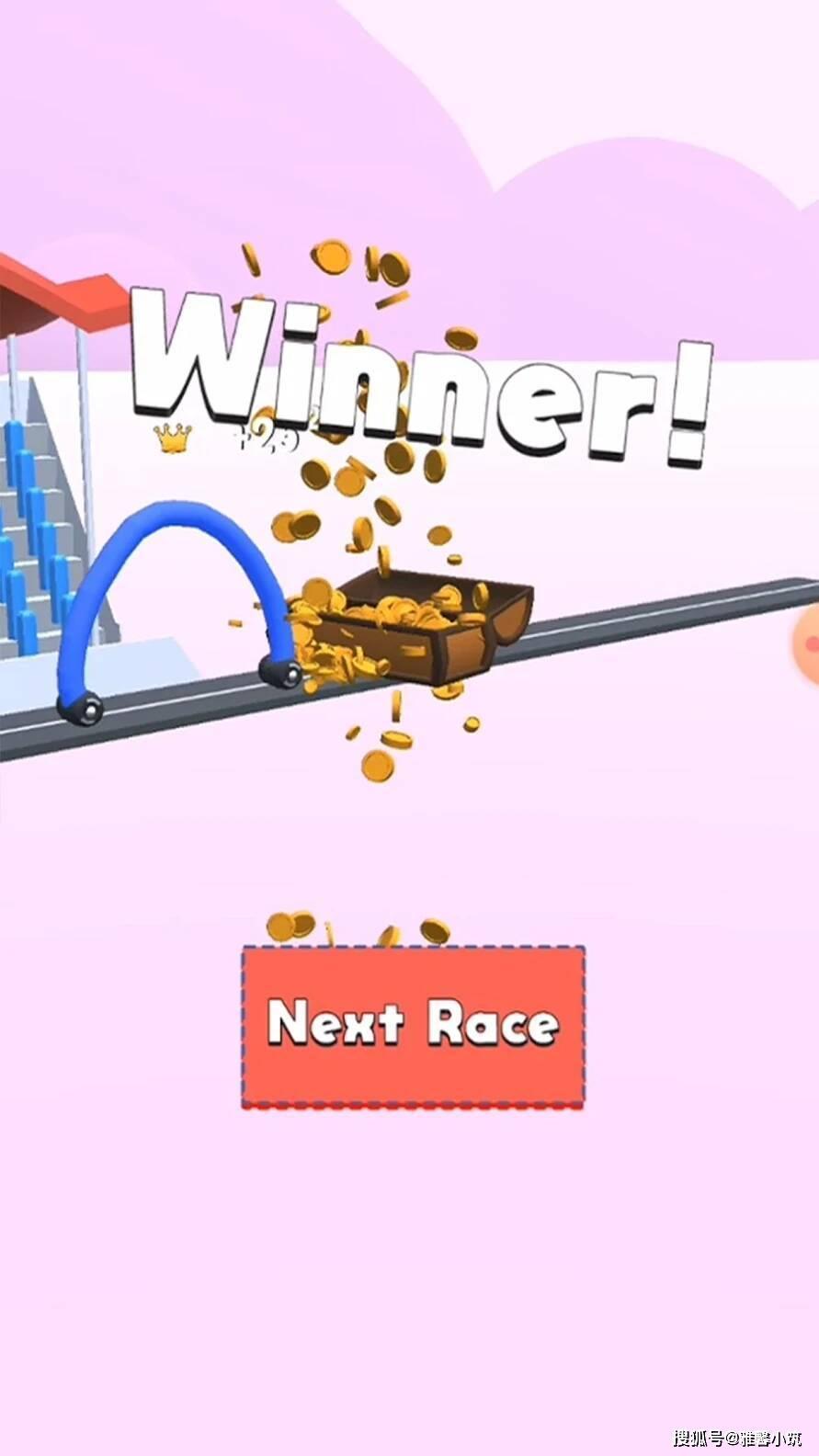 趣味蚯蚓赛车游戏《DrawRace》激情竞速手绘未来