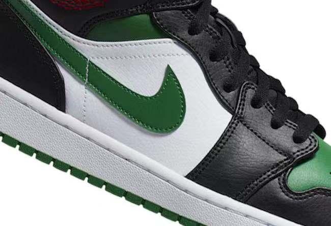 黑绿与黑绿脚趾配色的融合!不容小觑的 Air Jordan 1 Mid!