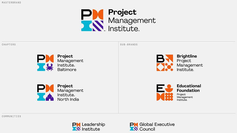 项目管理协会品牌视觉设计