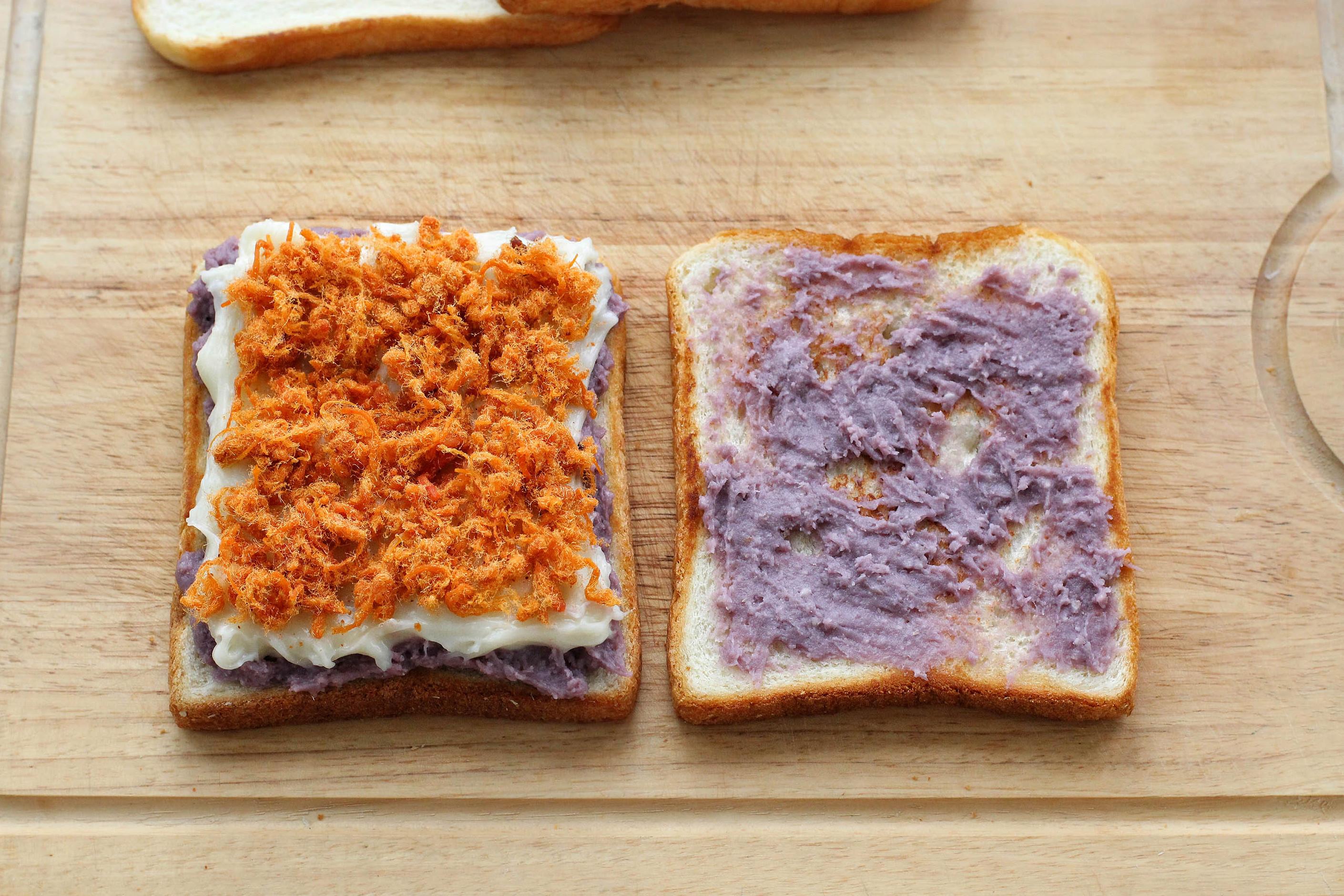 老鼎峰的麻薯肉松面包,可惜到单位了没有烤箱不过... _网易视频