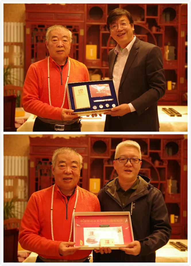 闫锐敏先生向中国劳动关系学院图书馆赠送千亿国际app下载作品