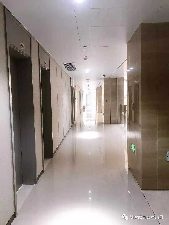 中金上海大厦公共走廊