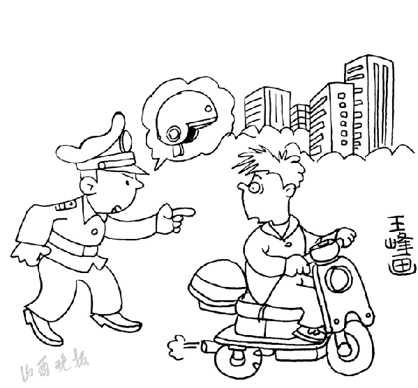 骑电动自行车带头盔太原推广情况如何?