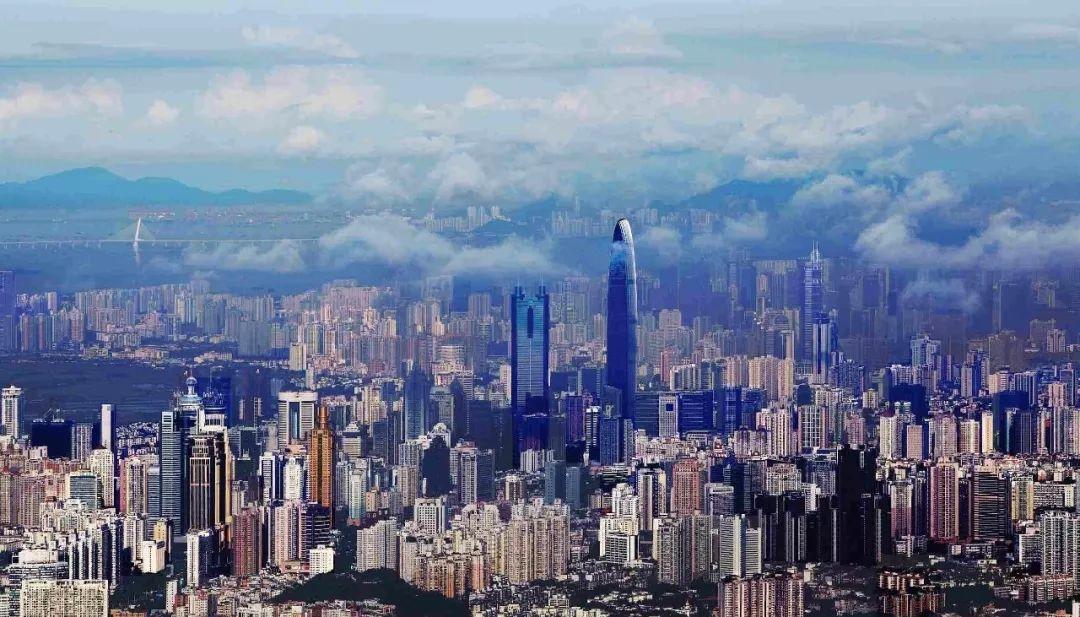 深圳2020年 gdp_深圳各区gdp排名2020