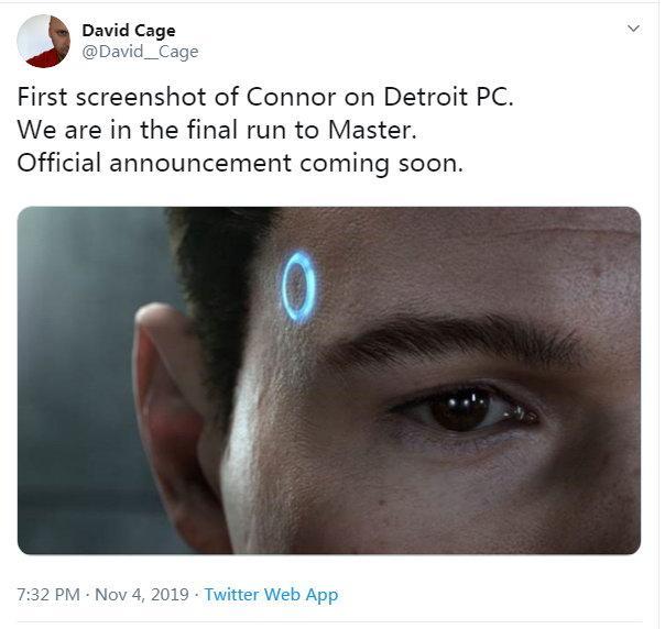 《底特律:变人》PC版首张截图画面细节表现优秀_Cage