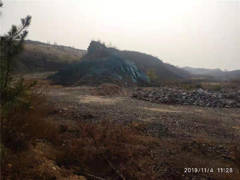 河北永年 景区削山建别墅,百姓征地款无着图片