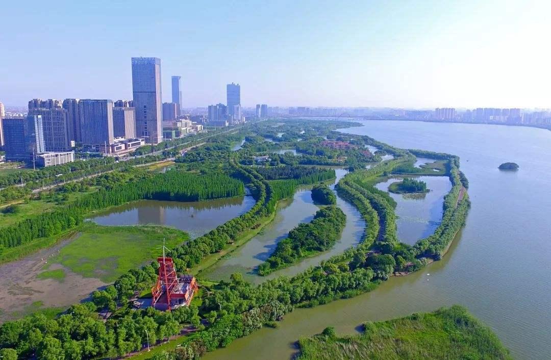 南昌,是一座亲水城市,湖泊不比武汉少
