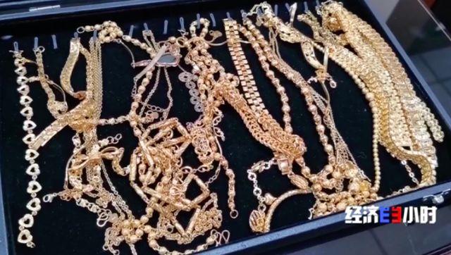 曝光!批发几块钱,市面上当黄金卖,一个网红能卖十万件…_沙金