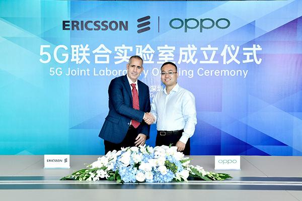 "OPPO与爱立信成立5G联合实验室:""为市场带来新用例""_吴恒刚"