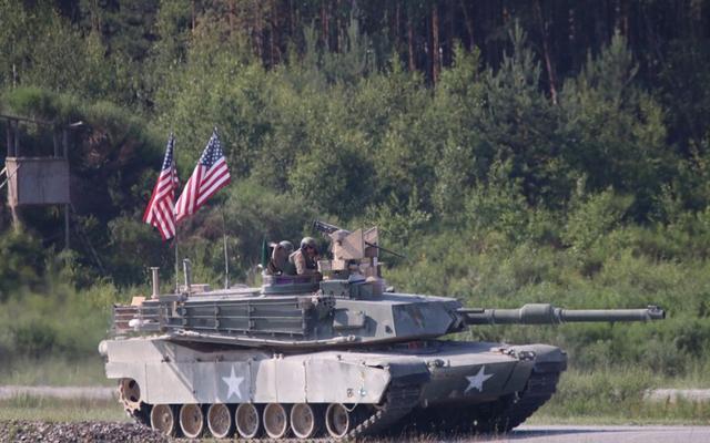 美军计划派出M1A2主战坦克进入叙利亚为