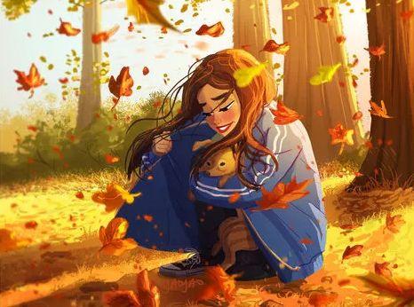朋友圈暖心漫画:一个女人最舒服的生活状态,单身其实也可以很好