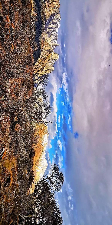 15藏区之旅01—— 雪山下泡堂子,措普沟的露天野温泉