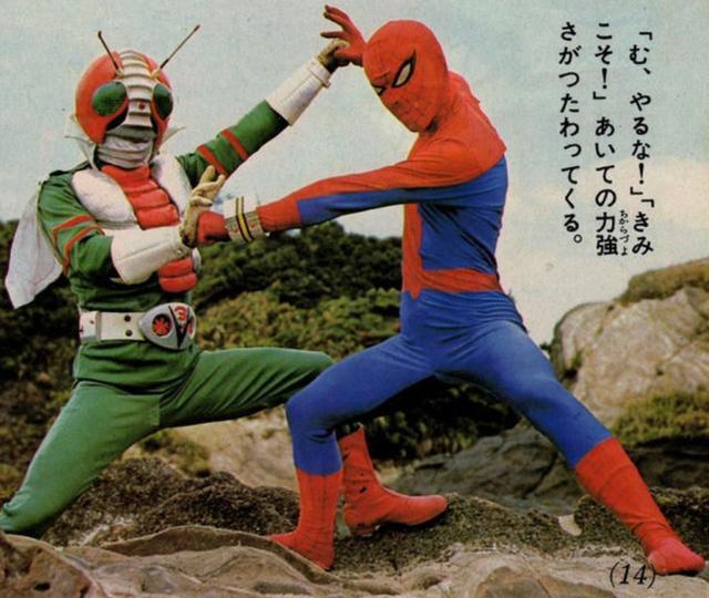 東映蜘蛛俠加入《蜘蛛俠:平行宇宙2》,網友:假面騎士V3呢?