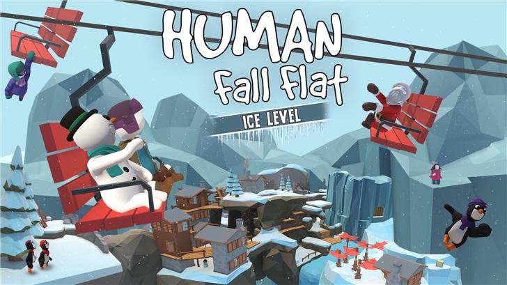 """《人类:一败涂地》推出免费关卡""""冰雪""""_Flat"""