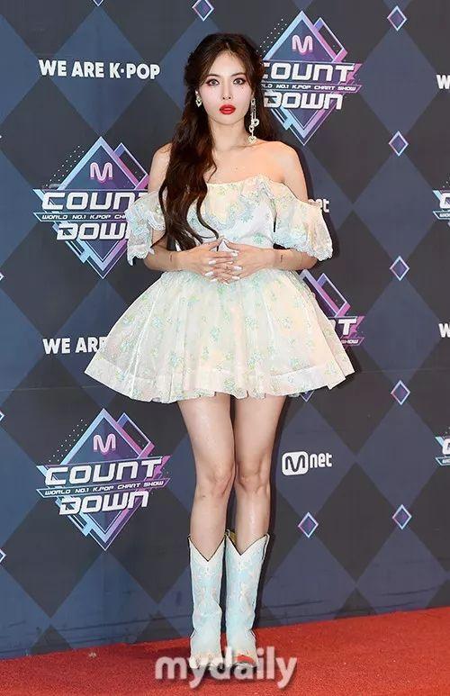 這姐長在我的審美點上了!泫雅參加Mnet節目 落淚妝仙氣十足