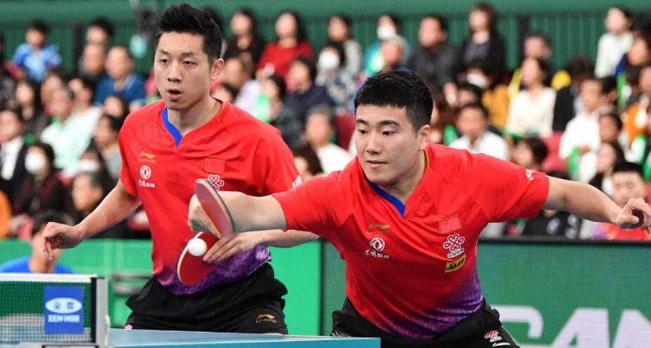 乒乓球团体世界杯:中国男团闯入半决赛将战日本