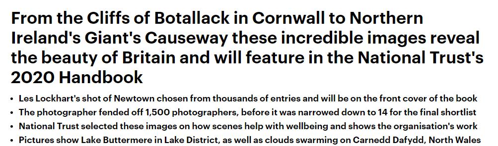 2020全英国家信托摄影获奖作品是这些!每个都想去看看
