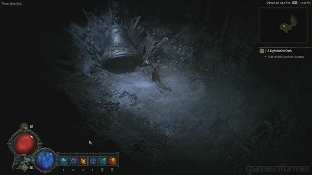 《暗黑破坏神4》巫师新演示视频强力法术轰杀敌军_敌人