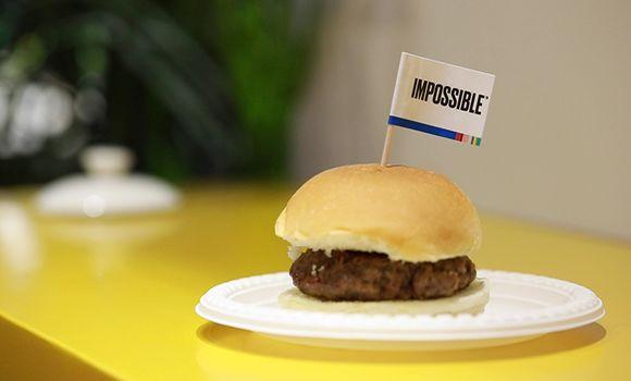 網紅人造肉漢堡是不是真香?可以在進博會上試試