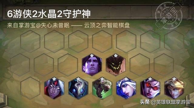 云顶新版本六大阵容推荐:游侠、召唤师领衔上分