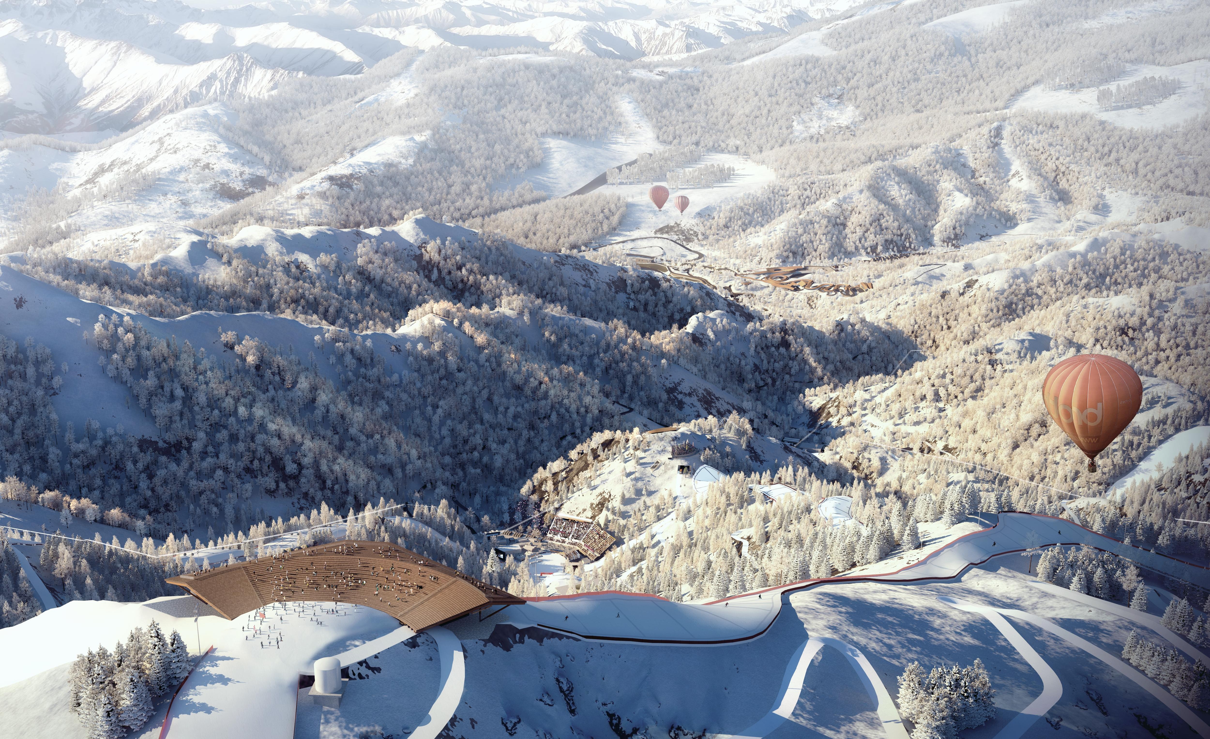 北京冬奥会延庆赛区保障测试赛各项工程全面进入调试阶段