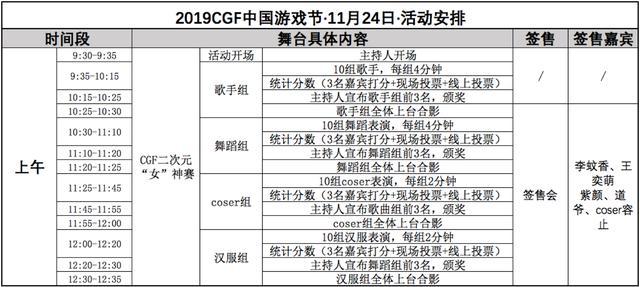 11月22-24日2019 CGF中国游戏节展会现场活动首次曝光 展会活动-第10张
