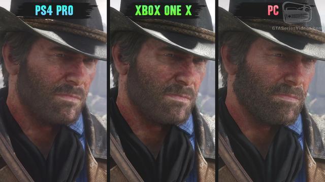 《荒野大镖客2》画面对比:PCvsX1XvsPS4Pro
