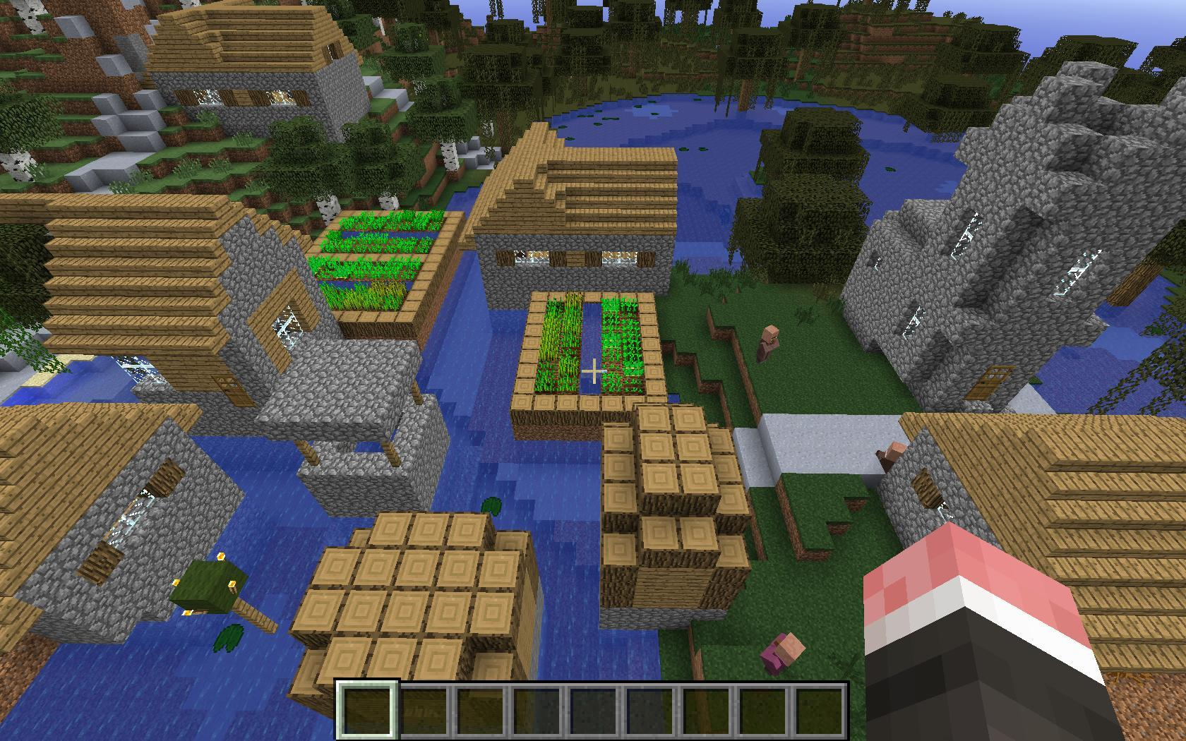 我的世界1.7.x更多村庄mod图片
