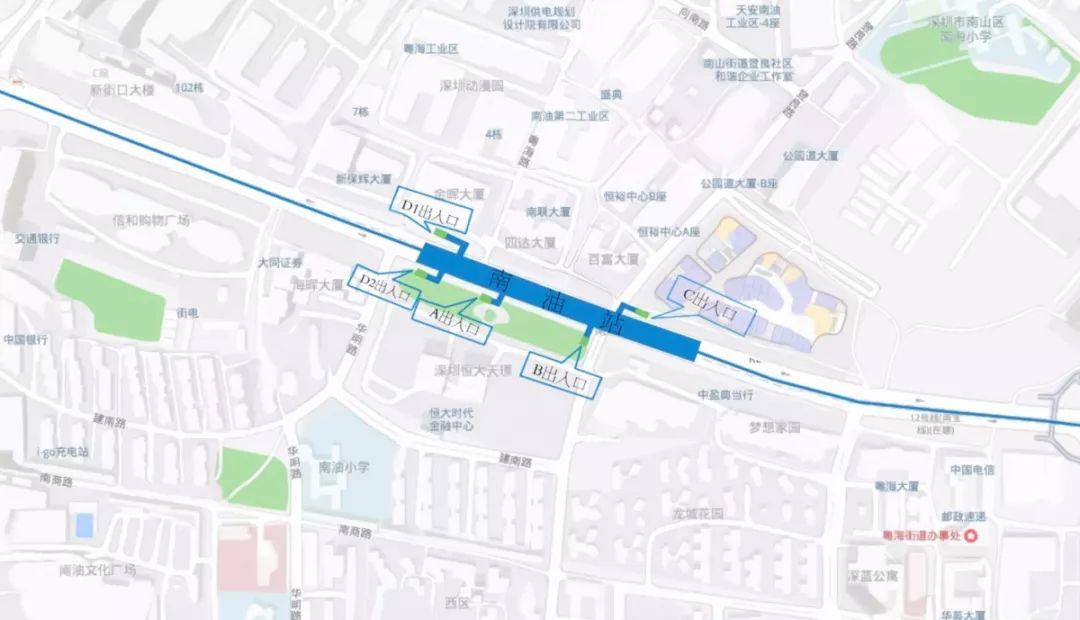 即将开通 深圳地铁9号线二期所有出入口已公布 在你家门口吗