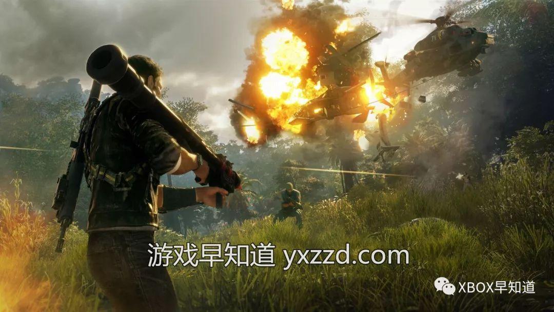 XboxOne《正当防卫4重装版》现已发售