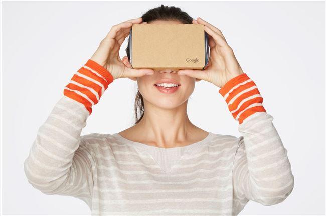 Google开源Cardboard硬纸板VR眼镜...