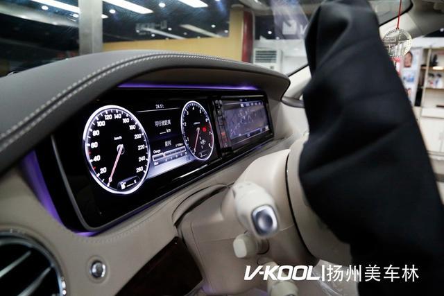 奔驰S350L和V70隔热膜
