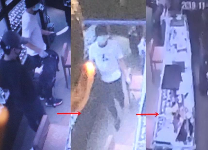 港媒:贼人持刀打劫旺角表行,抢走伯爵、劳力士、卡地亚等名表20多只总价值千万_香港
