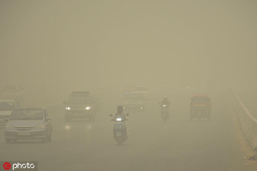 巴部长:我国雾霾污染,因为印度烧秸秆