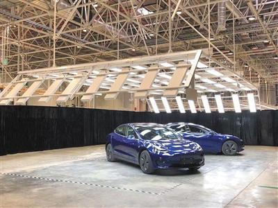 特斯拉上海超级工厂面世国产Model3最早年底交付