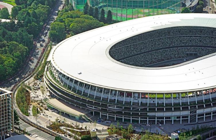 东京奥运主场馆地下挖出187件人骨以前可能是墓地