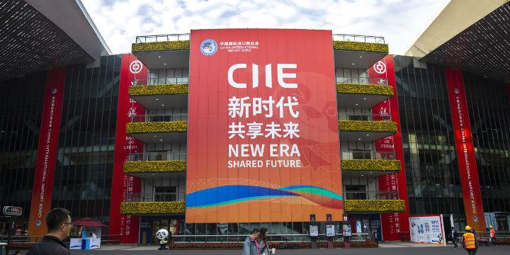 经观外商|从坚定到入门头条在进博初试中国机html5从抓住到精通光盘图片