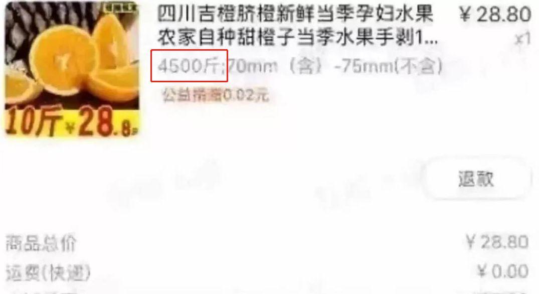 """26元买4500斤橙子!""""薅羊毛""""致网店关门今重新上架销量破万"""