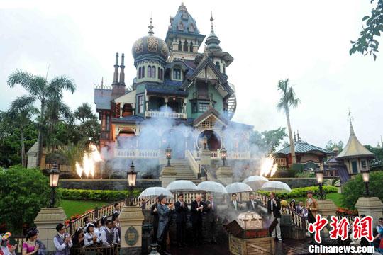 香港迪士尼乐园收入减少集团拟大幅修订扩建计划