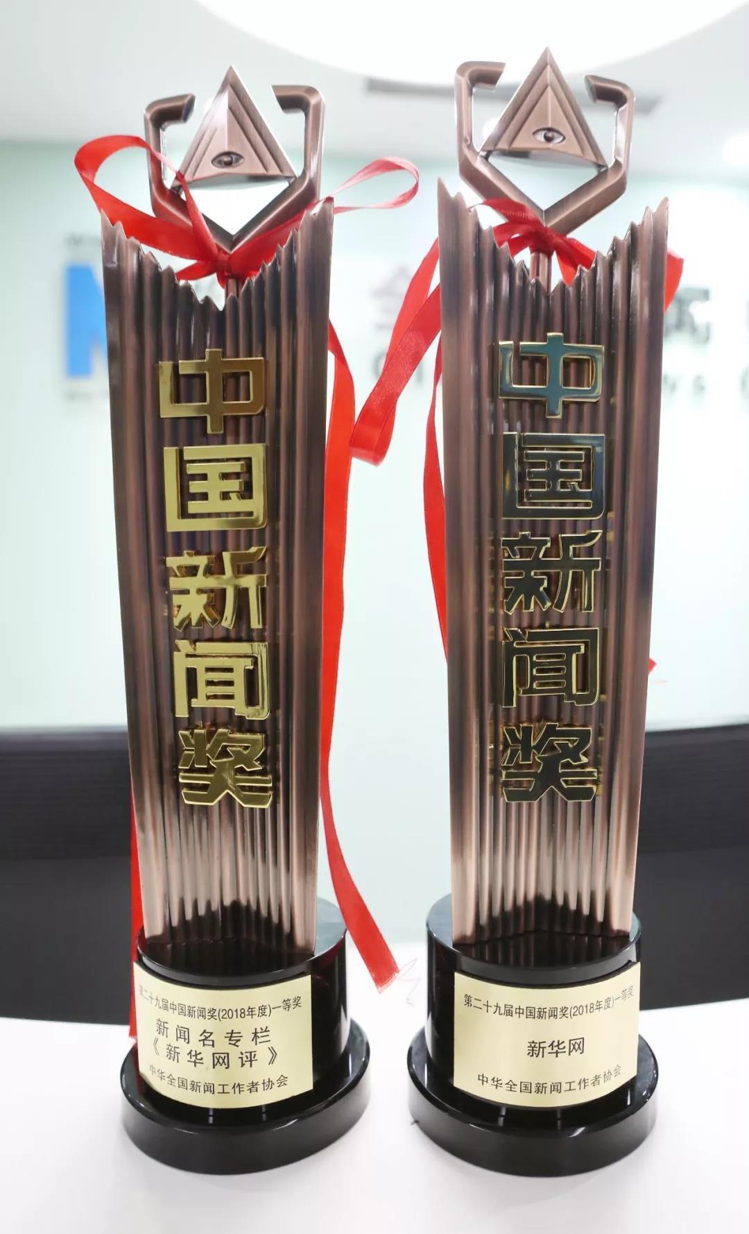 第二十九届中国新闻奖颁奖报告会举行 新华网两件作品获一等奖_名专栏