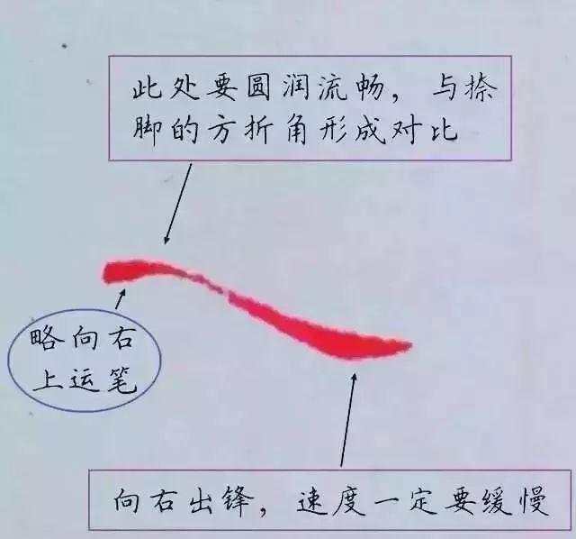 硬笔书法笔画的黄金定律,一旦领悟,进步神速