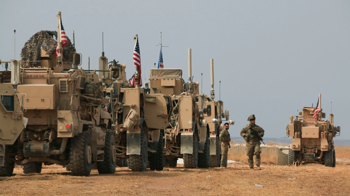 难道这是美军撤军再次重新进入叙利亚的原因?_武装