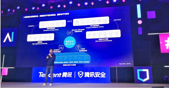 腾讯安全推出云数据安全中台,助力企业极简构建数据全生命周期防护_加密